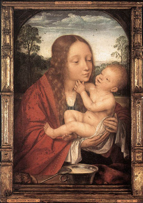 MASSYS Quentin Virgin and Child in a Landscape