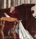 Raphael The Mass at Bolsena detail3