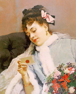 Madrazo y Garreta The Love Letter