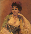 Garreta Raimundo De Madrazo Portrait Of A Lady