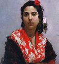 Madrazo y Garreta A Gypsy