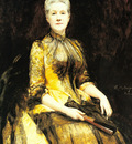 Madrazo y Garreta Raimundo De A Portrait Of Mrs James Leigh Coleman