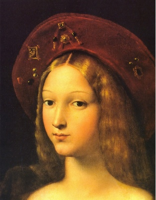 Joanna of Aragon detail