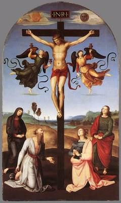 Raphael Crucifixion Citta di Castello Altarpiece