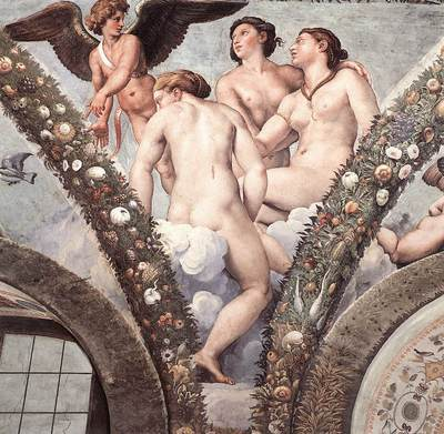 Raphael Cupid and the Three Graces