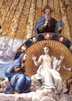 Raphael La Disputa detail12