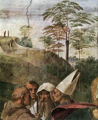 Raphael La Disputa detail4