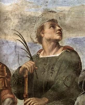 Raphael La Disputa detail5