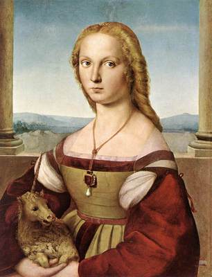 Raphael Lady with a Unicorn