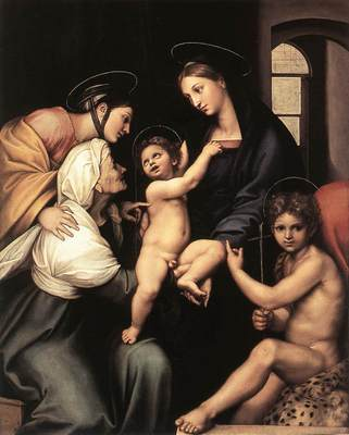 Raphael Madonna dell Impannata