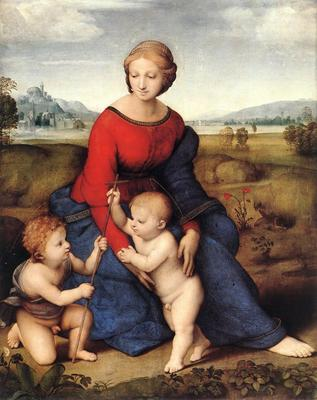 Raphael Madonna of Belvedere Madonna del Prato