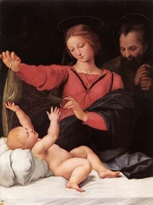 Raphael Madonna of Loreto Madonna del Velo