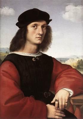 Raphael Portrait of Agnolo Doni
