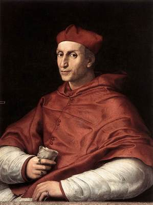 Raphael Portrait of Cardinal Bibbiena