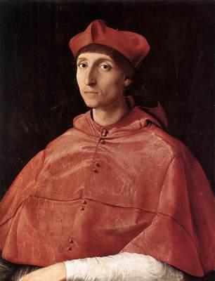 Raphael Portrait of a Cardinal