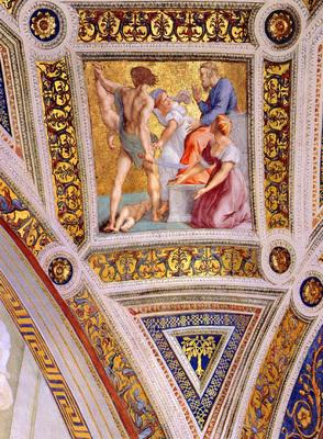 Raphael Stanza Della Segnatura detail12