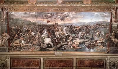 Raphael The Battle at Pons Milvius