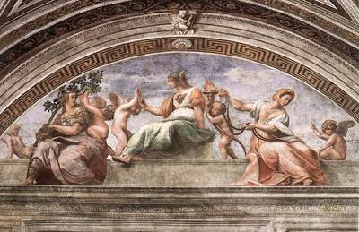 Raphael The Cardinal Virtues