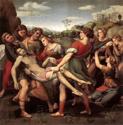 Raphael The Entombment