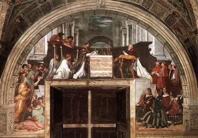 Raphael The Mass at Bolsena