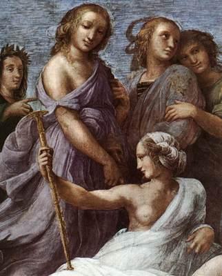 Raphael The Parnassus detail1