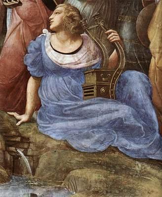 Raphael The Parnassus detail4