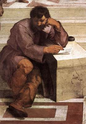 Raphael The School of Athens detail2