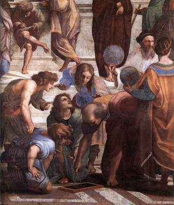 Raphael The School of Athens detail3
