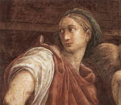 Raphael The Sibyls detail1