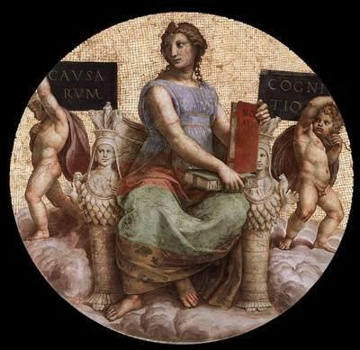 Raphael The Stanza della Segnatura Philosophy