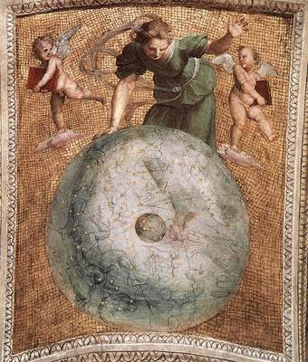 Raphael The Stanza della Segnatura Prime Mover