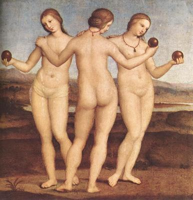 Raphael The Three Graces