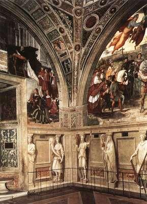 Raphael View of the Stanza di Eliodoro