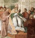 Raphael Gregory IX Approving the Decretals