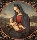 Raphael Madonna with the Book Connestabile Madonna