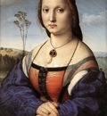 Raphael Portrait of Maddalena Doni