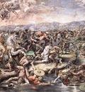 Raphael The Battle at Pons Milvius detail1