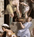 Raphael The Fire in the Borgo detail2