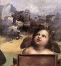 Raphael The Madonna of Foligno detail1