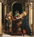 Raphael The Presentation in the Temple Oddi altar predella