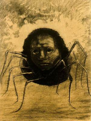 redon crying spider