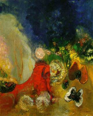 redon red sphinx