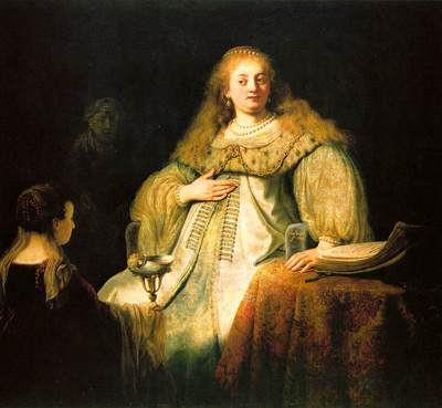 Rembrandt Artemisia