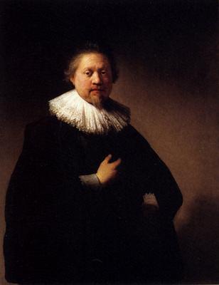 Rembrandt Portrait Of A Man