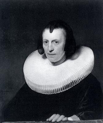 Rembrandt Portrait Of Alijdt Adriaensdr