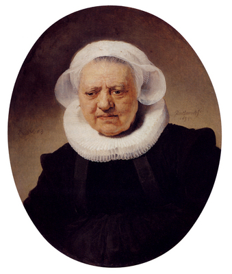 Rembrandt Portrait Of An Eighty Three Year Old Woman