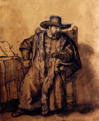 rembrandt portrait of cornelis claesz