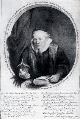 Rembrandt Portrait Of Johannes Cornelisz