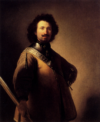 Rembrandt Portrait Of Joris De Caullery