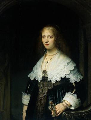 rembrandt portrait of maria trip